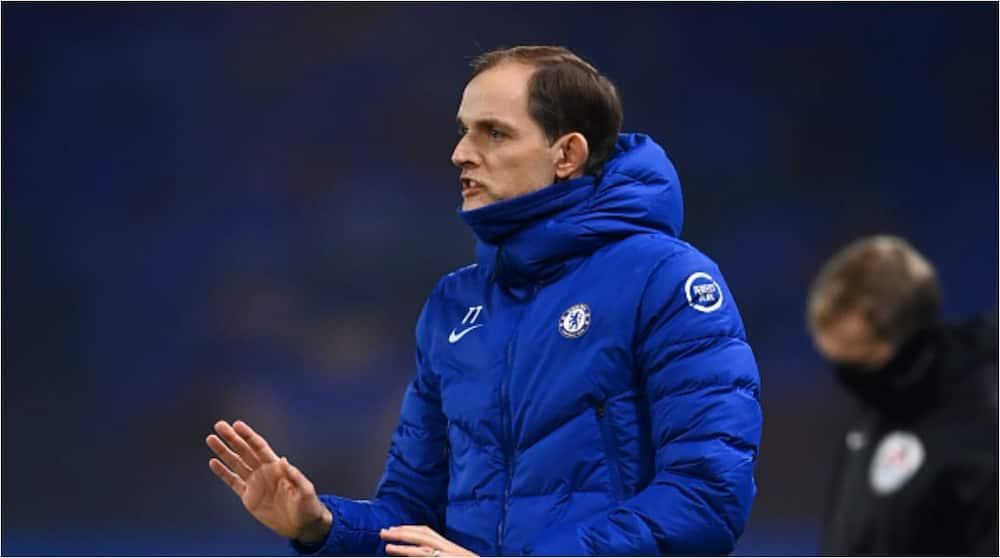 Chelsea boss Tuchel sets new record following draw with Man United