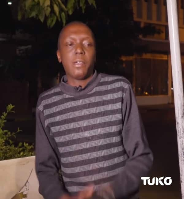 Kenyan man living in the streets pleads for second chance after losing opportunities over addiction