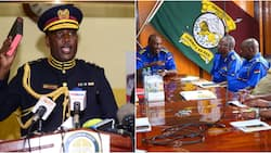 New IG Hillary Mutyambai meets National Police Service directors in first official meeting