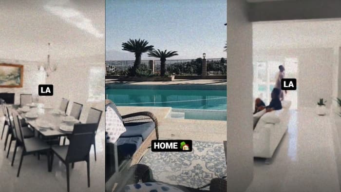 """Diamond Gives Fans View of Beautiful House He and His Team Are Occupying in the US: """"Home"""""""