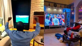 "Netizens Enjoy Banter Over TV Sizes of Ababu Namwamba, Raila: ""Baba Has a Microwave"""
