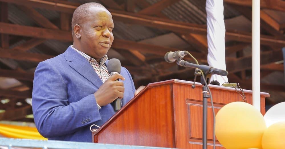 Pigo kwa DP Ruto 2022 Abagusii wakisema Matiang'i tosha!