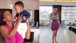 Corazon Kwamboka Shuts Down Fan Who Mentioned Maureen's Son Kai on Her Motherhood Post