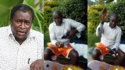 Former MP Kalembe Ndile spotted sanitising hands with expensive Jack Daniel's whiskey
