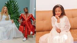 Diamond Platnumz, Zari's Daughter Princess Tiffah Wows Fans with Cute South African Accent