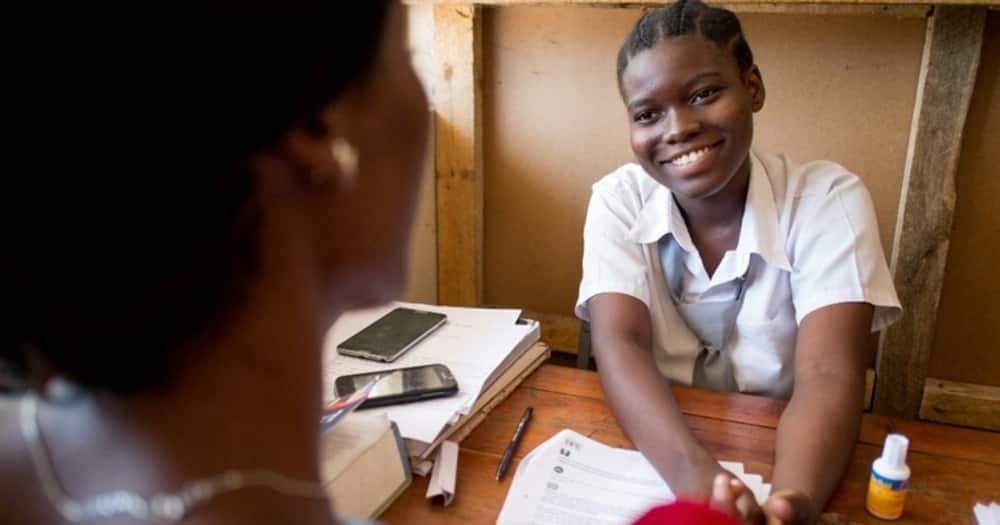 Girls who had dropped out of school in Tanzania can now go back to school and continue learning.