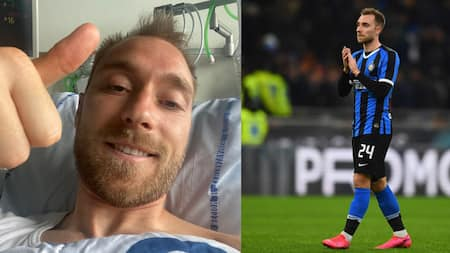 Christian Eriksen Makes First Appearance Days After He Collapsed During Match