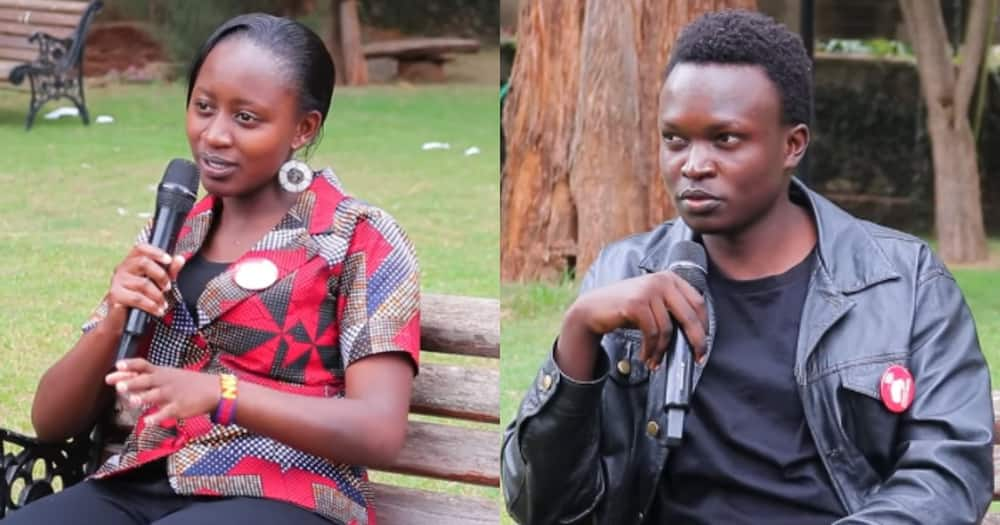 Susan Wairimu and Isaac Okello.