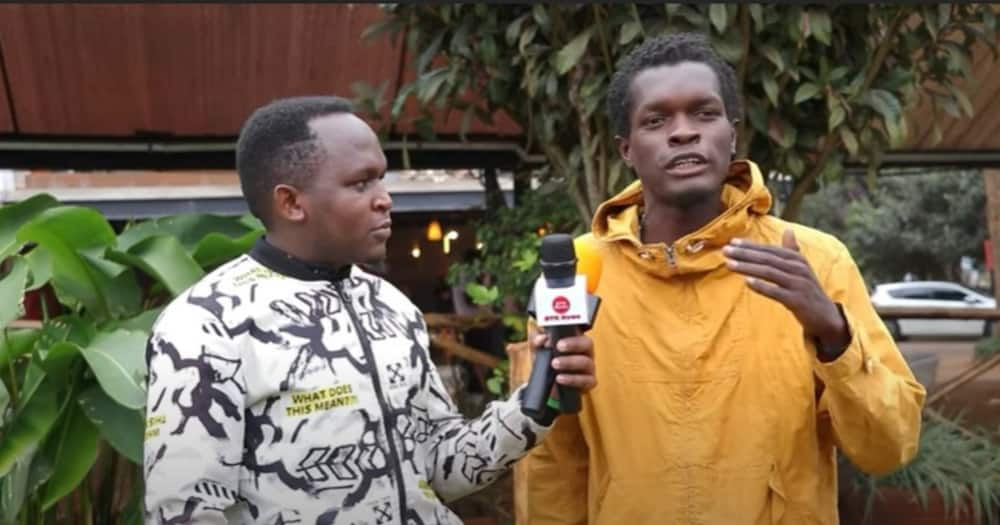 Vincent Mboya said Jalang'o looked down on him when the comedian told him to work to make ends meet.