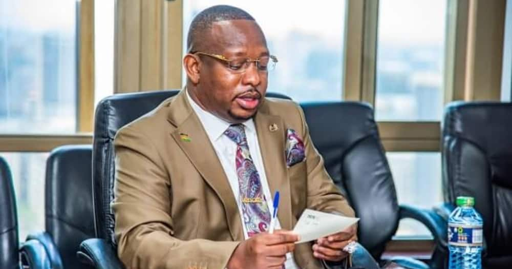 Video of Mike Sonko declaring himself third in command emerges day after his ouster