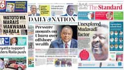Newspapers Review for October 6: Uhuru Rallies Kenya's First Families Behind Raila's Presidential Bid