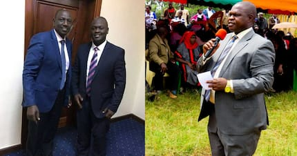Ruto's secretary in near fist fight with Kisii deputy governor