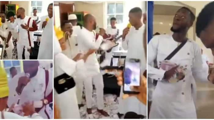 Drama in Church as Family Members Surround Chorister, 'Embarrass' Him with Cash