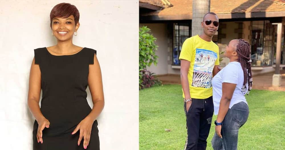 Karen Nyamu Shuts Down Netizen Who Accused Her of Competing with Samidoh's Wife Edday