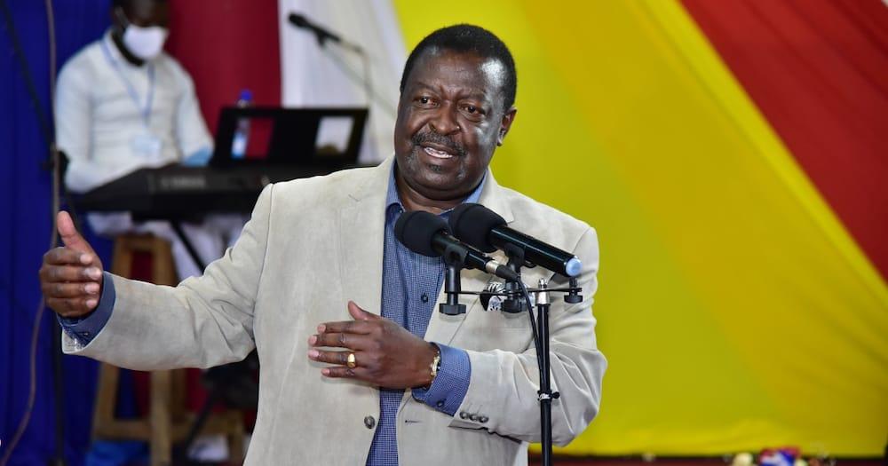 Musalia Mudavadi dismisses claims he's been endorsed by Uhuru for 2022 presidency