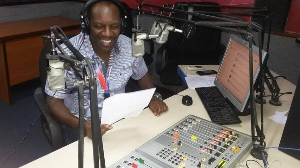 kamau munyua of radio citizen