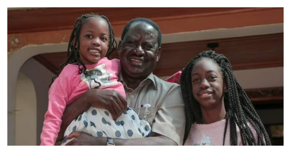 With you by my side I'll never walk alone: Rosemary's sweet birthday message to father Raila