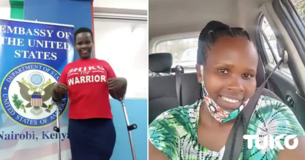 Ruth Wanjiku is appealing for help to get funds for radiotherapy and surgery. Photo: TUKO.co.ke.