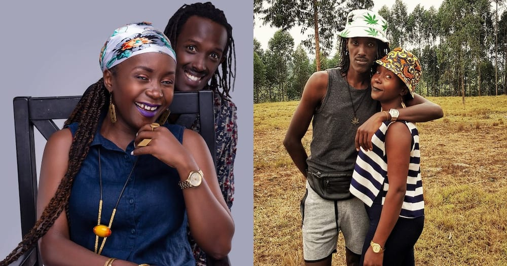 Anne Kansiime and Sky.