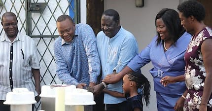 Cameroonian journalist wowed by Uhuru, Raila partying together