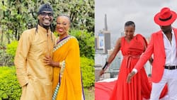 """Nameless Chides Fan Who Criticised Wahu for Wearing Bikini: """"Stop Following My Family"""""""