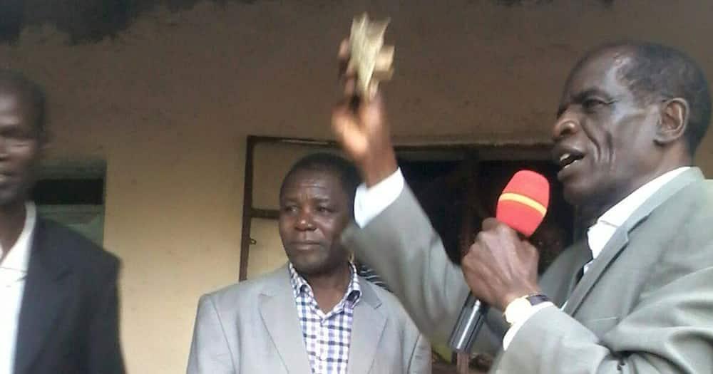Former Mt Elgon MP John Serut. Photo: Mark Wafula.