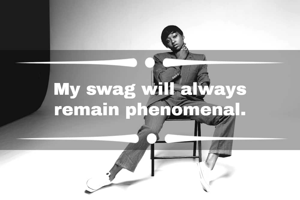 swag quotes and captions for Instagram
