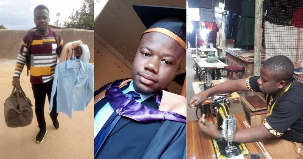 Luckson Musendo studied Mechatronics Engineering at the Copperbelt University in Zambia.