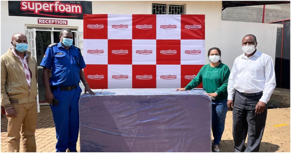 Superfoam Donates Mattresses to Support Homeless Children Left at Ruiru Police Station