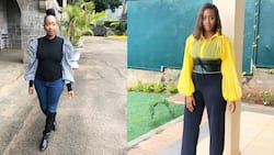 """Janet Mbugua advises fan pressuring wife to dress like ex-TV anchor: """"Let her dress as she wants"""""""