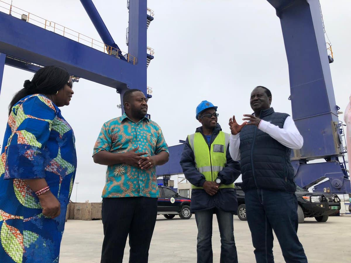 Raila begins new AU job duties, visits Namibia to inspect projects