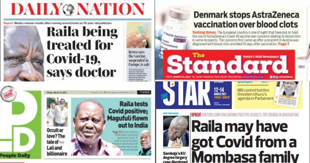 Kenyan newspapers review for March 12: Court told Omar Lali used witchcraft to seduce Tecra Muigai