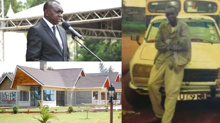 """Oscar Sudi's Rise from Cattle Herder to Vocal Kapseret MP: """"Patience and Hard Work Pays"""""""