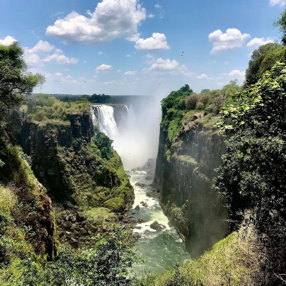 Major rivers in Africa