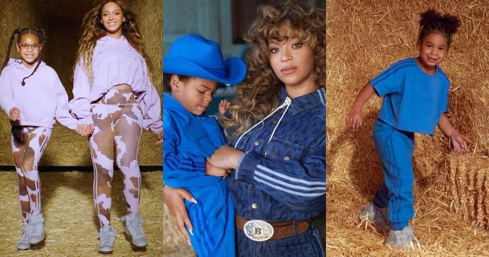 Beyonce and kids in new campaign for kids clothes.