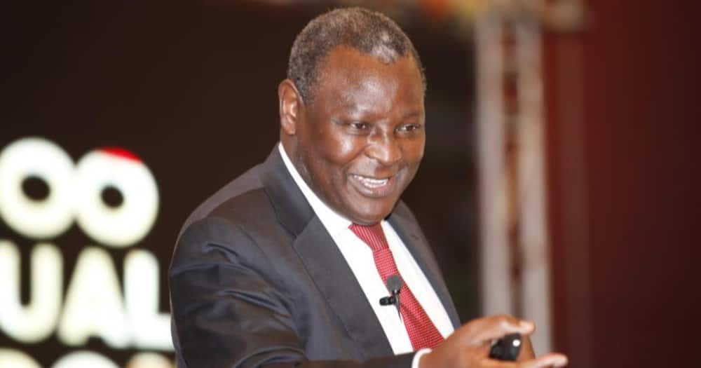 Equity Group CEO James Mwangi said the secret behind success is one having self-control over their bodies.