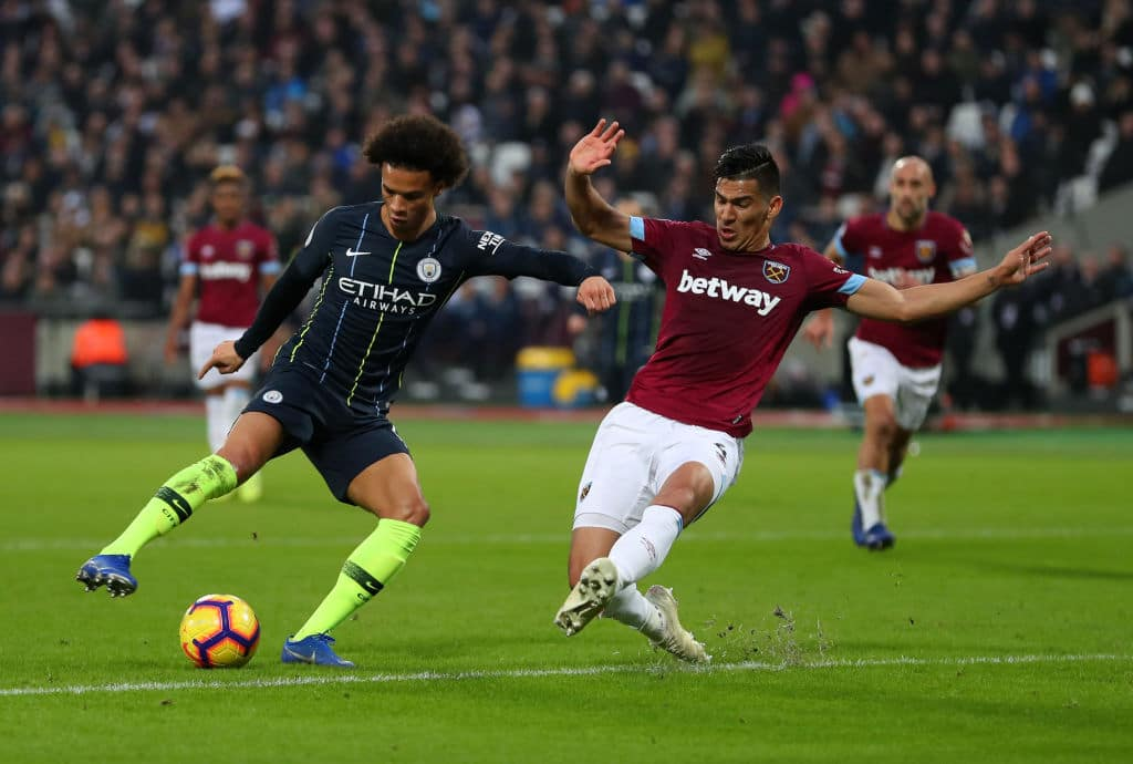 Manchester City cruise to 3-0 victory over West Ham United