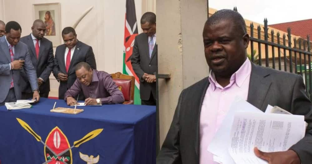 Okiya Omtata in court to protest repeal of interest cap