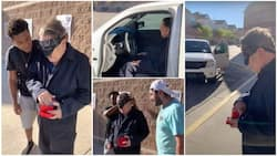 Kind Students Surprise Their Gateman with New Vehicle, Give Him Key in Emotional Video