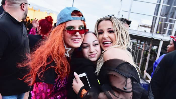 Tana Mongeau and Bella Thorne relationship timeline and feud