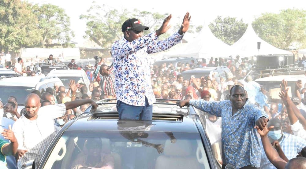 Endeleeni kungoja: DP Ruto amwambia Raila kuhusu ahadi ya 2022