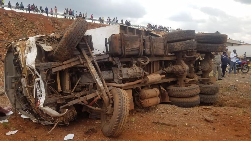 Watu 7 wapoteza maisha kwenye ajali mbaya katika barabara ya Eldoret- Webuye