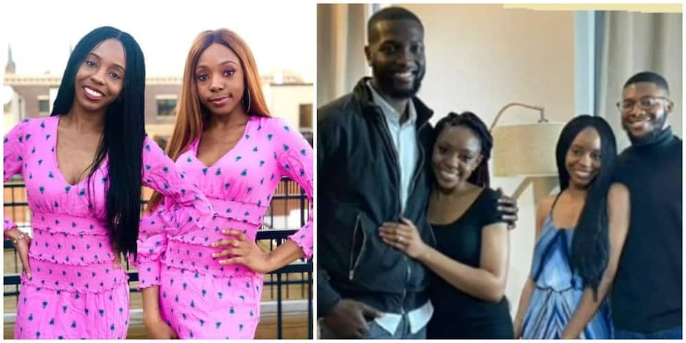 Nigerians react as health minister's twin daughters get engaged on same day