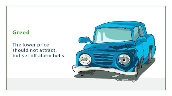 9 widespread mistakes when choosing a car