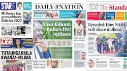 Magazeti Jumatano, Julai 28: Mt Kenya Waahidi Kulipa Deni la Raila 2022