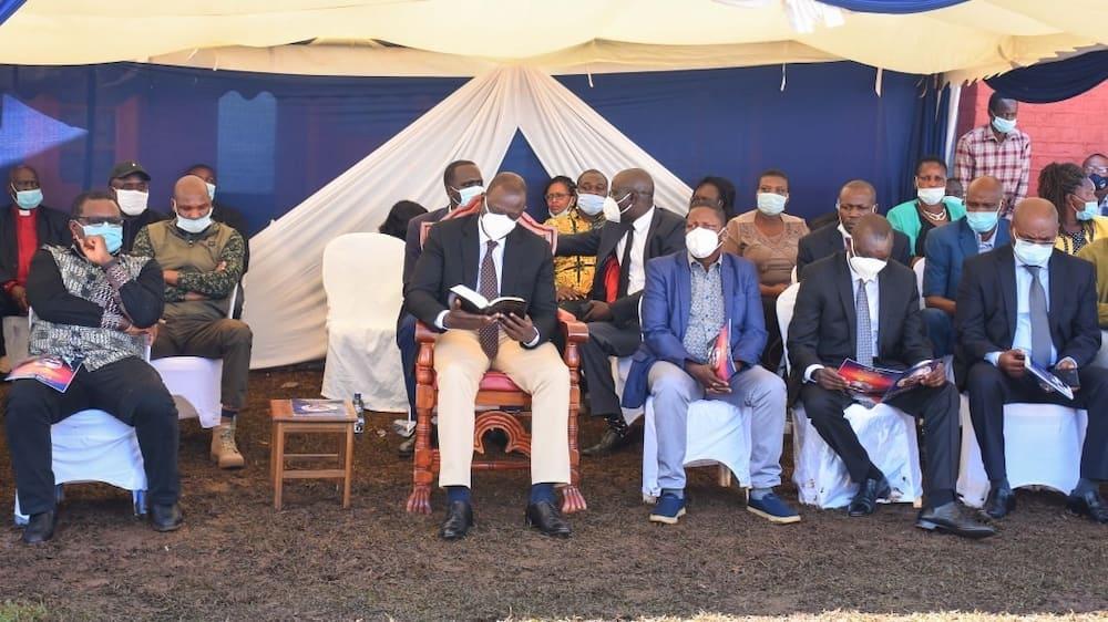Orodha ya viongozi waliodamana na DP Ruto katika ziara yake Bonde la Ufa