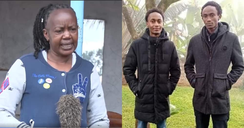 Catherine Wawira, mother of the two Ndwiga brothers speaks out about her last moments with them.