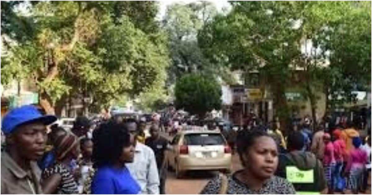 Muranga women complain of insane man who spanks, fondle them in public