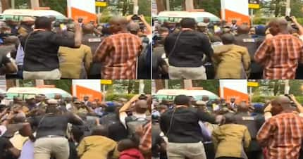 Journalist caught slapping heads of colleagues shortly after DusitD2 attack