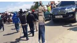 Kieni: Msafara wa DP Ruto Washambuliwa na Wakazi Eneo la Narumoru